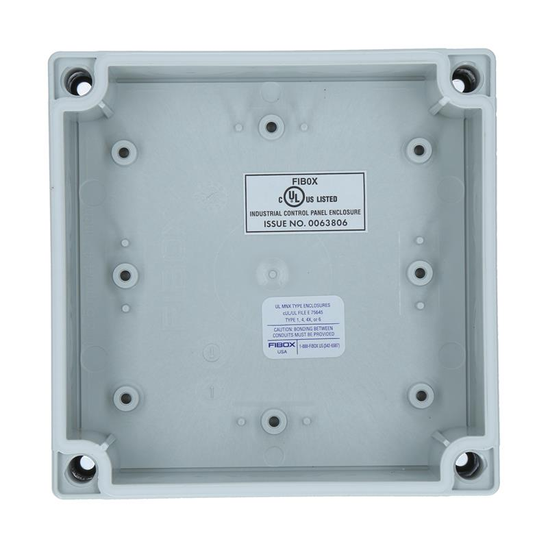 Polycarbonate Enclosure FIBOX MNX UL PCM 125/75 T - 6016908