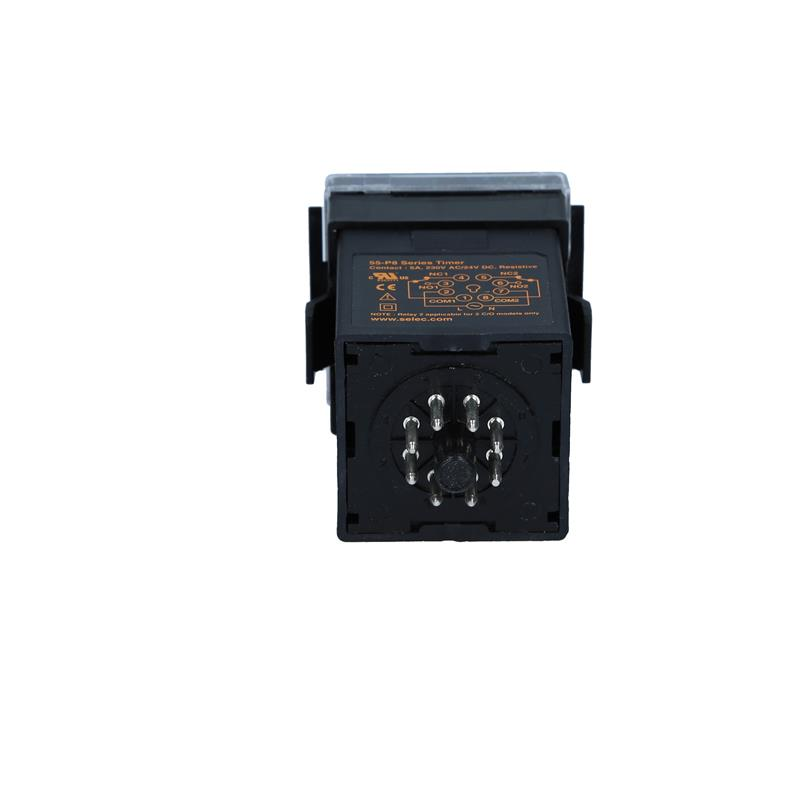 On Delay/Interval timer relay Selec 55XU-P8-CU