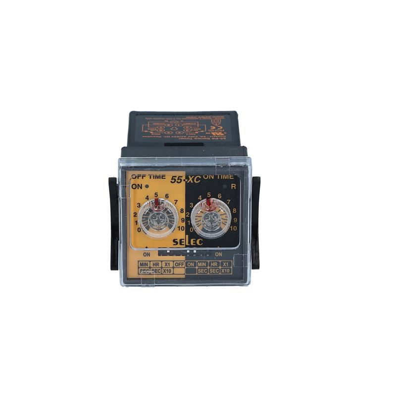 Cyclic timer relay Selec 55XC-P8-CU