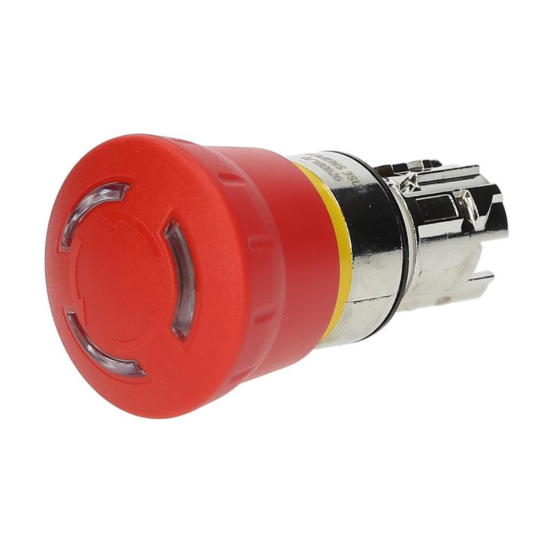 Emergency stop pushbutton Siemens SIRIUS ACT 3SU11501HB201FG0