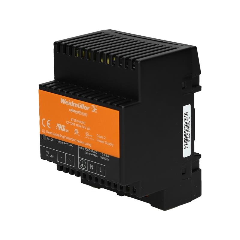 DIN rail power supply Weidmüller CP SNT 48W 24V 2A - 8739140000