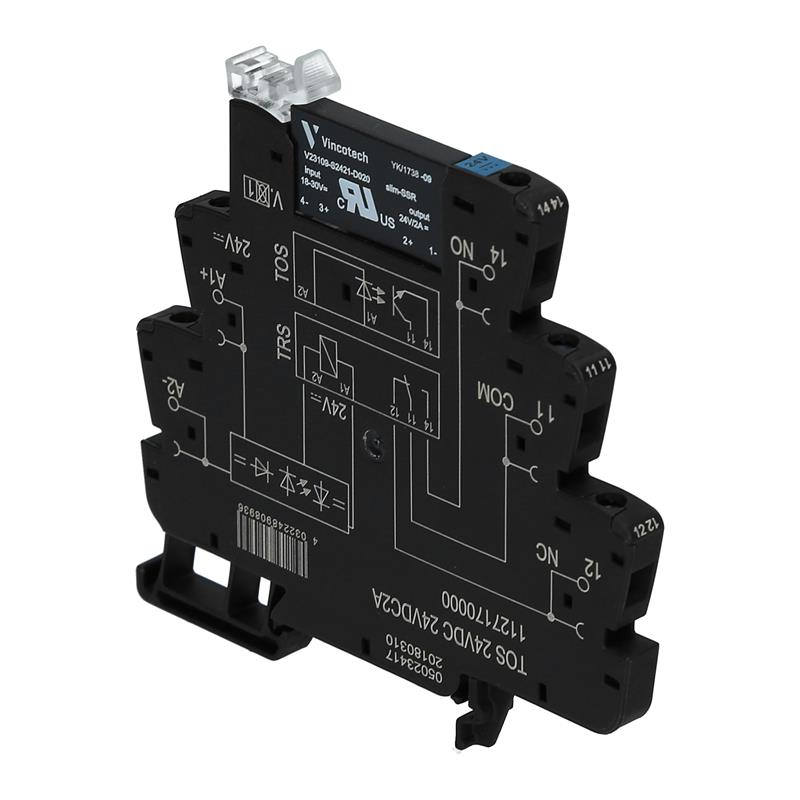 Coupling relay Weidmüller TOS 24VDC 24VDC2A - 1127170000