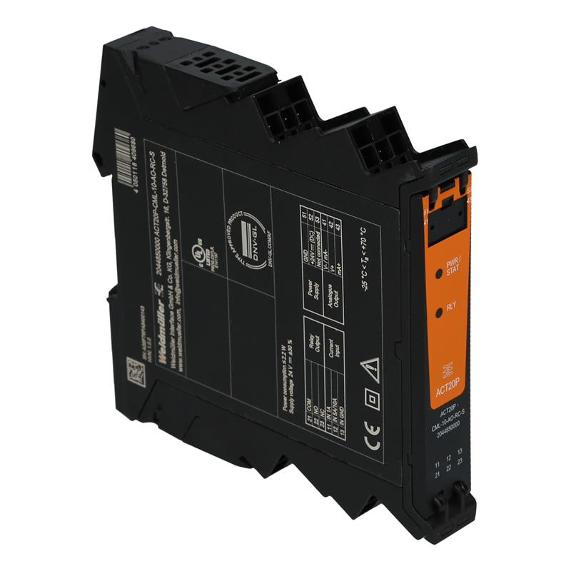 Analog signal converter Weidmüller ACT20P-CML-10-AO-RC-S - 2044850000