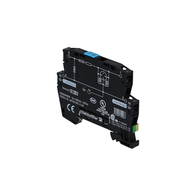 Surge protector Weidmüller VSSC4 SL 24VAC/DC 0.5A - 1063840000