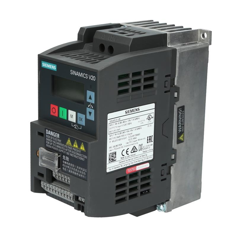 Variable frequency drive Siemens SINAMICS 6SL32105BB155UV1