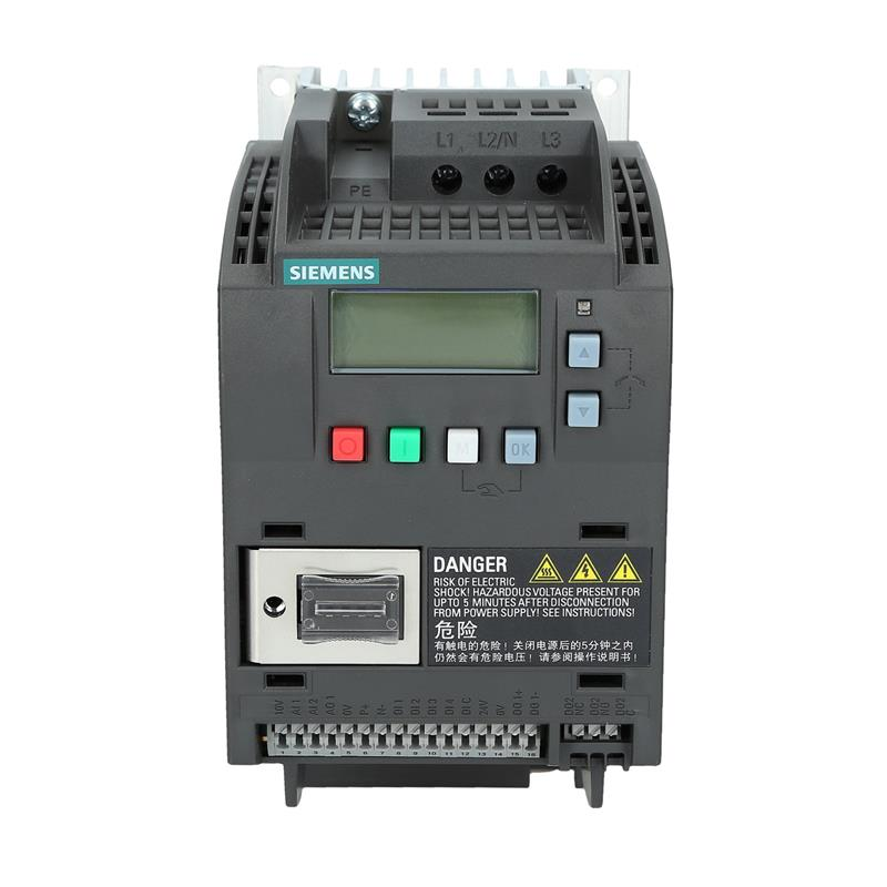 Variable frequency drive Siemens SINAMICS 6SL32105BE215UV0