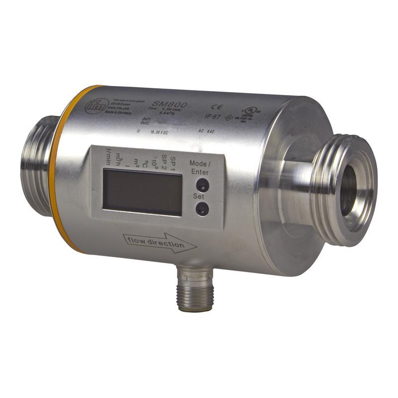Magnetic-inductive flow meter ifm electronic SM8004