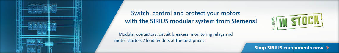 Ad: Shop SIRIUS modular system from Siemens