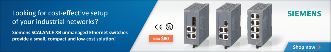 Ad: Shop SCALANCE Ethernet switches today!