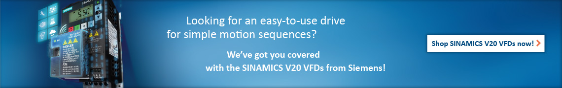 Ad: Shop SINAMICS V20 VFDs