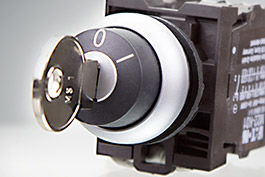 Eaton Key-operated buttons