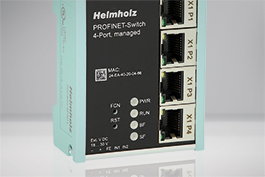 Managed PROFINET Switches