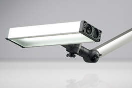 LED2WORK Articulated arm luminaires