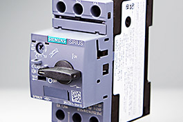 Siemens circuit breakers for motors and starters