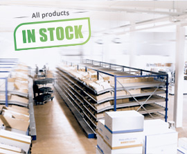 More than 170,000 items in stock