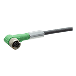 M12 sensor cable, shielded, 8-pole
