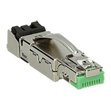 RJ45 Ethernet connectors