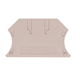 W Series beige end plates single level 2.5-10mm