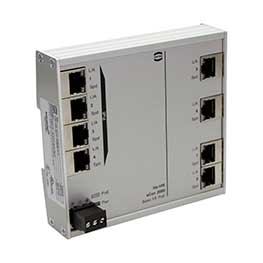 Unmanaged Full gigabit Ethernet switches PoE/PoE+