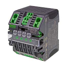 Multichannel electronic load circuit breakers