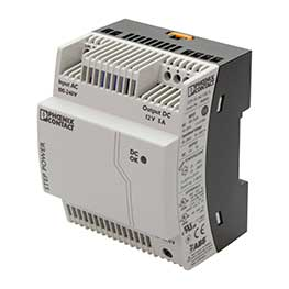 Din-rail mounted power supplies, 12 V DC