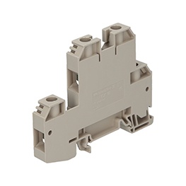 Feed-through terminal blocks, screw connection