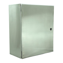 Stainless steel control cabinets