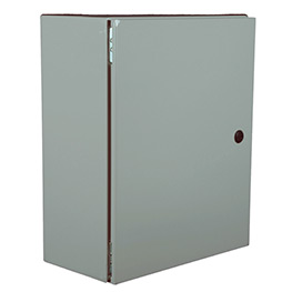 Steel control cabinets