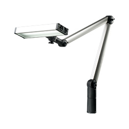 Articulated arm luminaires
