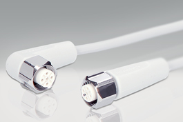 Sensor cables for food processing