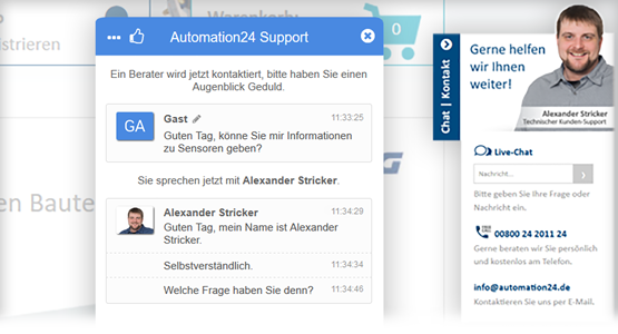 Bester Kundenservice bei Automation24