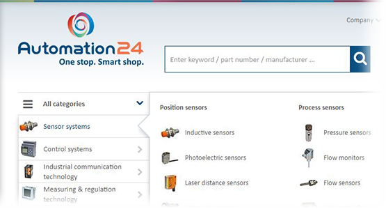 Automation24 user-friendly navigation
